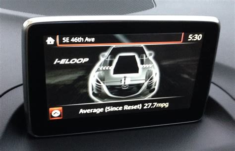 image i eloop screens in mazda connect 2014 mazda 3