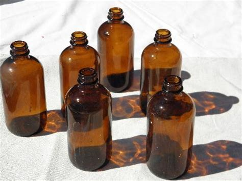 Things Come In Brown Bottles by Brown Glass Pharmacy Bottles Lot Steunk Vintage