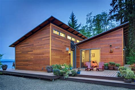 Seattle Djc Com Local Business News And Data Real Estate Pre Fab House Tour On Vashon