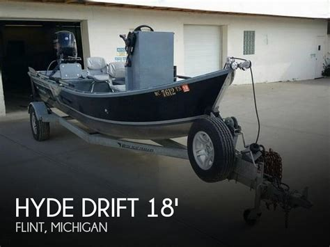 boats for sale in flint michigan for sale used 2015 hyde drift power drifter in flint