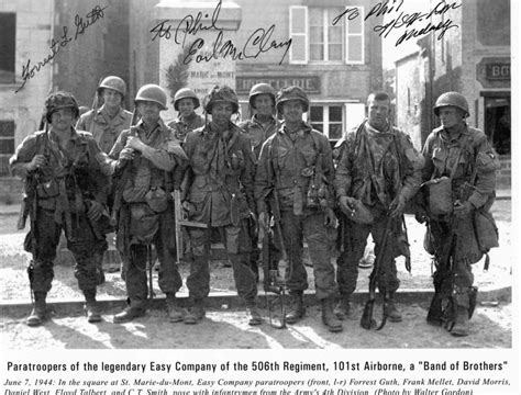 the real band of the real band of brother from the 506th regiment of the