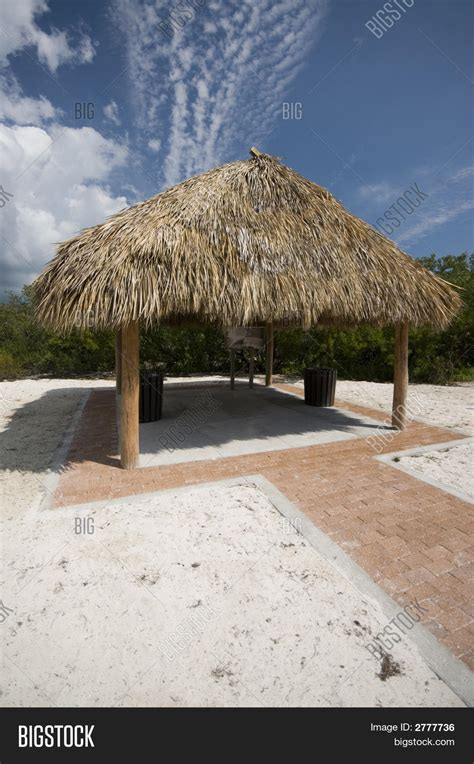 tiki hut thatch roofing tiki hut thatch roof coco plum image photo bigstock