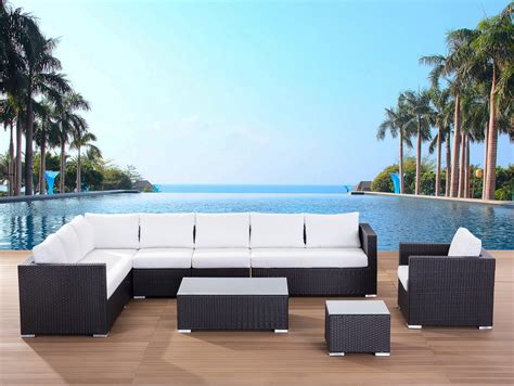 poly resin outdoor furniture wicker rattan lounge garden furniture resin poly
