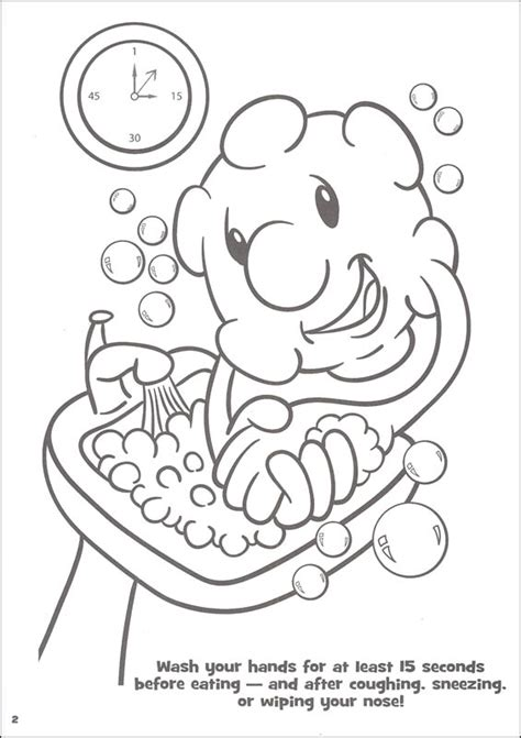 germ coloring book pages coloring pages
