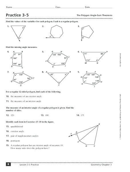 interior and exterior angles worksheet interior and exterior angles worksheet briefencounters