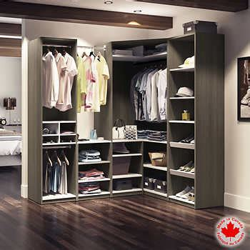 bestar cielo grey basic walk in closet