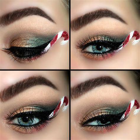 17 best christmas themed makeup images on pinterest