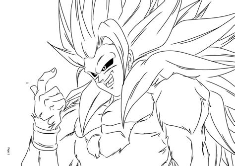 free coloring pages goku face 8