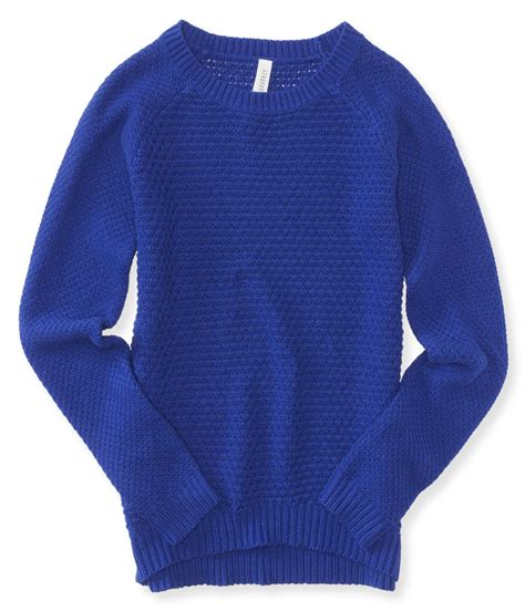 Sweater Aeropostale Aeropostale Womens Knit Pullover Sweater Womens