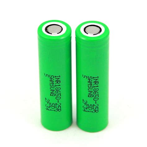 Samsung 25r Samsung 25r 18650 2500mah Batteries 2 Pc
