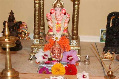 ganpati decoration ideas for home card boards ganesh chaturthi 2018 celebrations rituals and traditions