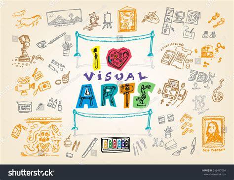 doodle create tools visual arts doodle handsketch illustration stock