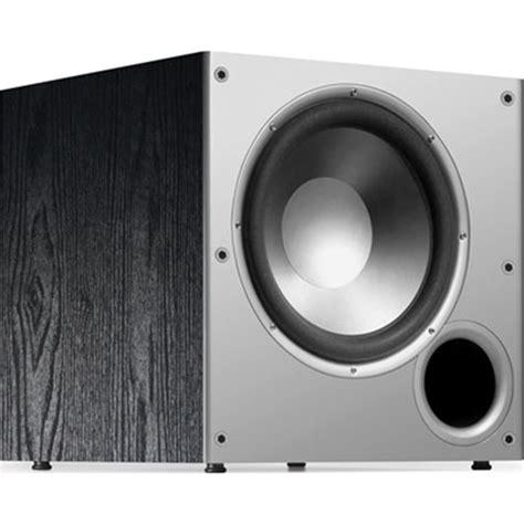 Speaker Subwoofer 100 Watt polk audio psw10 10 quot 100 watt powered subwoofer home speakers best buy canada