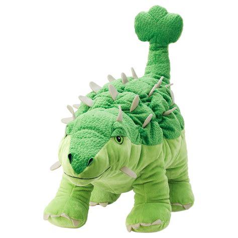 jaettelik soft toy dinosaur dinosaurankylosaurus ikea