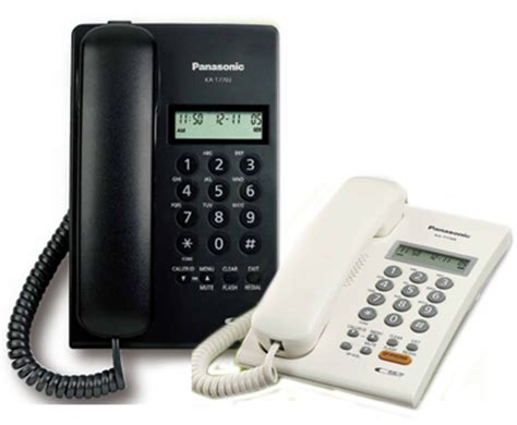 Telephone Telpon Kabel Panasonic Kx T7703 telecommunication panasonic single line phone panasonic