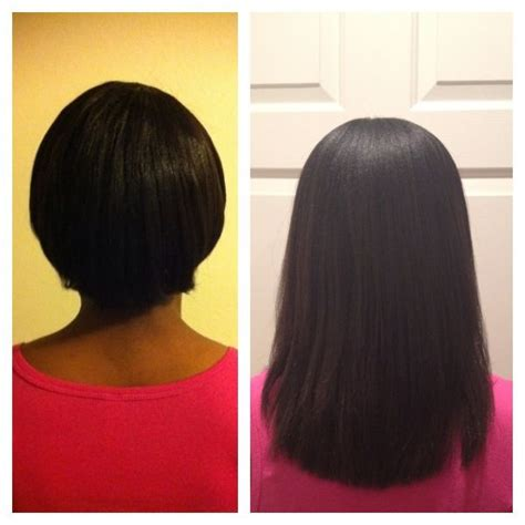 healthy hair journey the 25 best relaxed hair journey ideas on