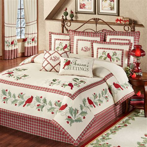 wintersong holiday comforter bedding
