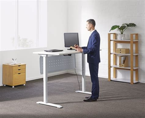 ergonomic benefits of standing desk sit to stand desk onther design idea and decor
