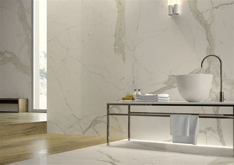 thin tiles for bathroom porcelain marble with gold accessories google search