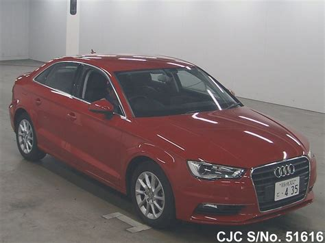 Red Audi A3 For Sale by 2014 Audi A3 Red For Sale Stock No 51616 Japanese
