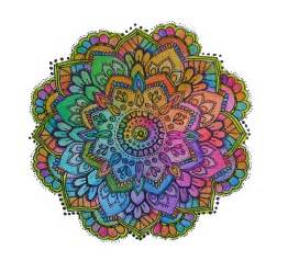 colored mandala mandalas the no worries