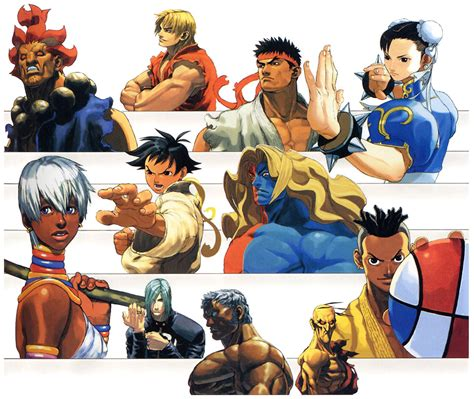 gief s a guide to fighter v third edition books sf3 3rd strike portraits characters