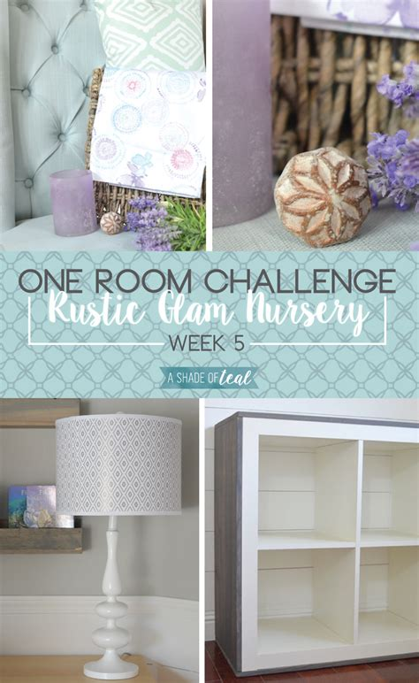 one room challange rustic glam nursery one room challenge week 5 a shade