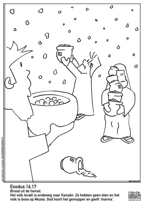 coloring pages quail from heaven coloring pages for children manna quail and water