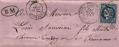 lettre postale d 233 co comment collectionner les marques postales