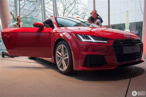Tts Audi 2014 by Ginebra 2014 Audi Tt Tts Y El Tt Quattro Sport