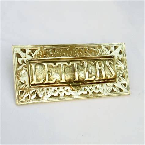cover letter tlates letter box covers brass nickel chrome and black letter