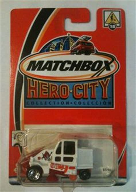 Matchbox Cleaner 164 sweeper supreme eben on trash pack