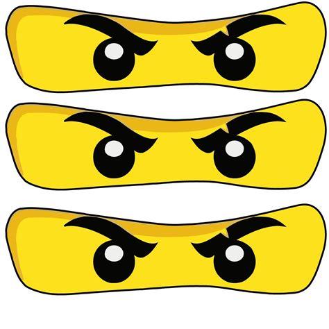 ninjago printable eyes 12x12 jpg 1 600 215 1 600 pixels ninjago party pinterest