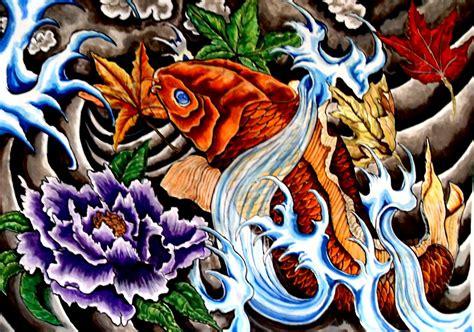 japanese koi tattoo wallpaper koi fish tattoos cool tattoo designs ideas their meaning