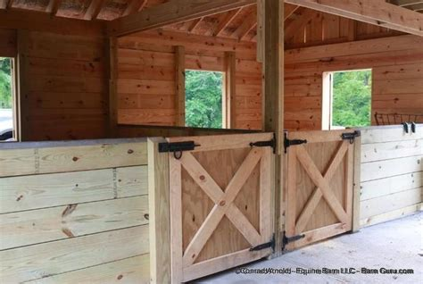 2 horse barn with feed room cheap plans single stall pet zone elevated healthy care 12feed n store wiring