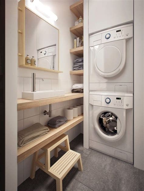 Laundry Design For Apartments | 25 best ideas about bathroom laundry on pinterest