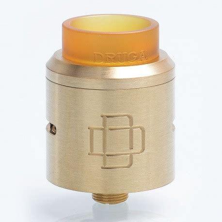 Druga 24 Rda Atomizer Black Authentic Termurah 26 99 authentic augvape druga rda brass 24mm rebuildable atomizer