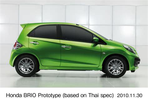 honda city brio honda brio prototype previews new city car for asian markets