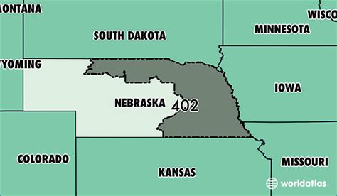 area code lincoln ne where is area code 402 map of area code 402 omaha ne