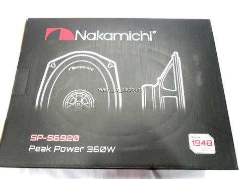 Nakamichi Speakers Sp S1620 Grosir nakamichi sp s6920 6 quot x 9 quot 2 way coaxial car audio