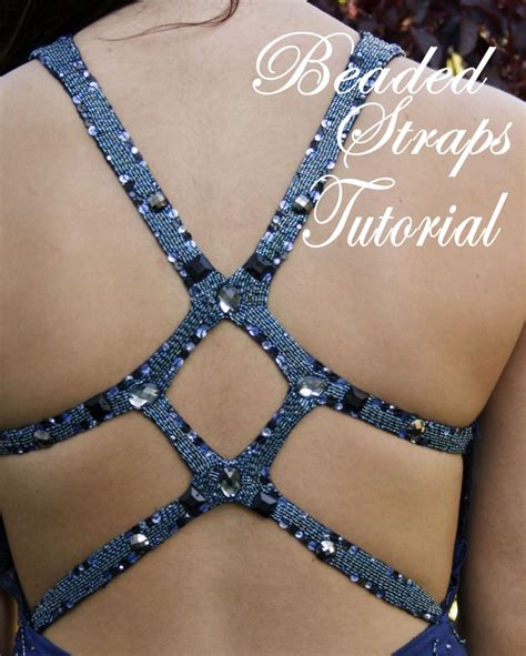 how to bead a dress reader tutorial formal dress diy how to make beaded