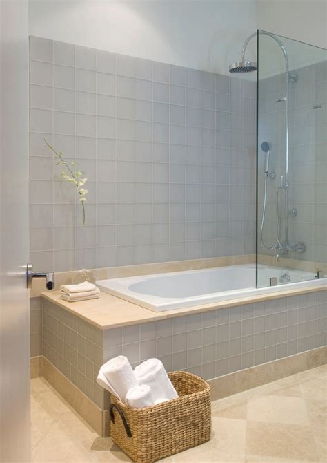 modern bathtub shower combo tub shower combo bathroom contemporary with bench chrome