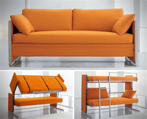 doc sofa doc sofa bunk bed transforms from sitting to sleeping