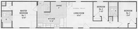 Single Wide Mobile Home Floor Plan 10 Great Manufactured Home Floor Plans Mobile Home Living