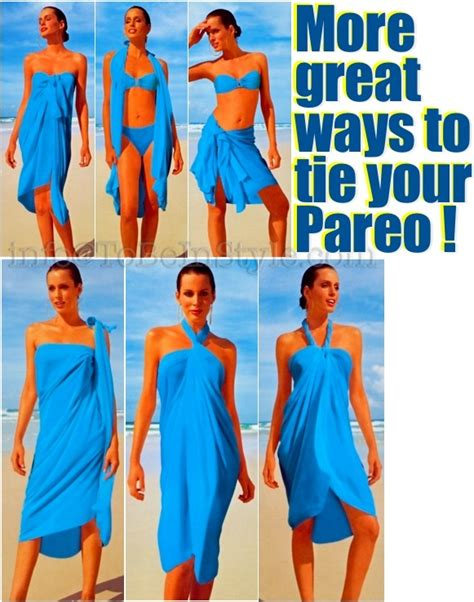 7 Ways To Dress Up Your by Different Ways To Tie A Sarong Kanga Of Which I Many