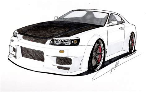 nissan skyline drawing nissan skyline drawings gallery