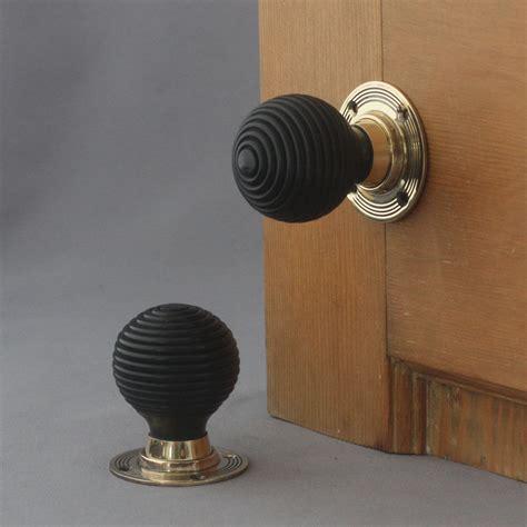 door handles ebay victorian solid ebony beehive door knobs ebay