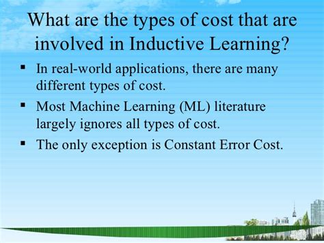 Different Types In Mba by Types Of Cost Ppt Mba 2009