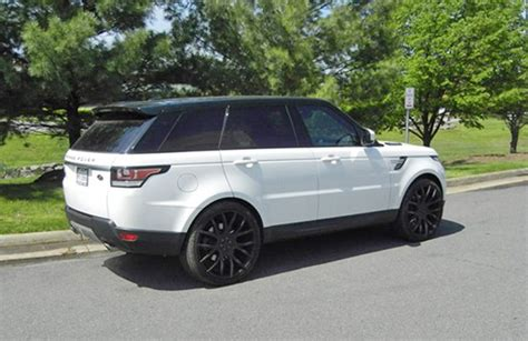 luxury black range rover big rims for range rover giovanna luxury wheels