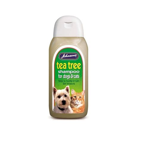 tea tree for dogs johnsons tea tree shoo johnson buy at qd stores
